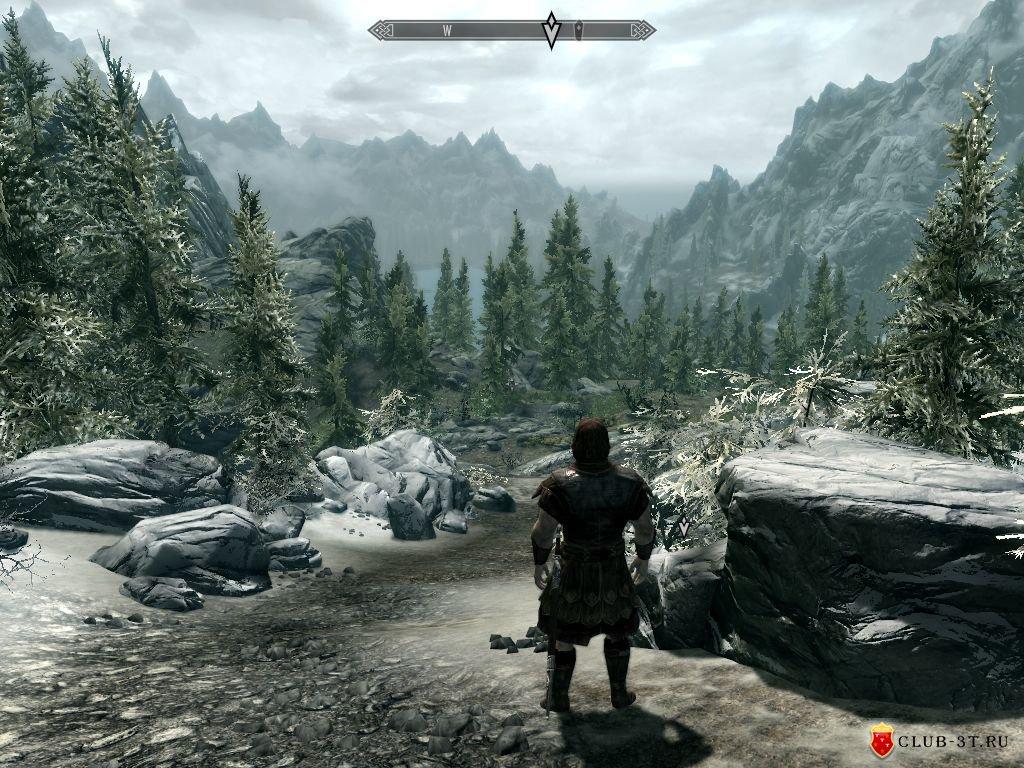 Скриншот к игре The Elder Scrolls V: Skyrim (2011) PC   RePack от R.G. Механики