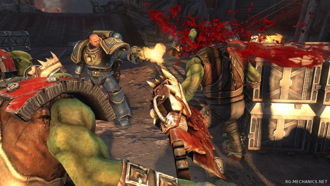 Скриншот к игре Warhammer 40,000: Space Marine (2011) РС   RePack от R.G. Механики