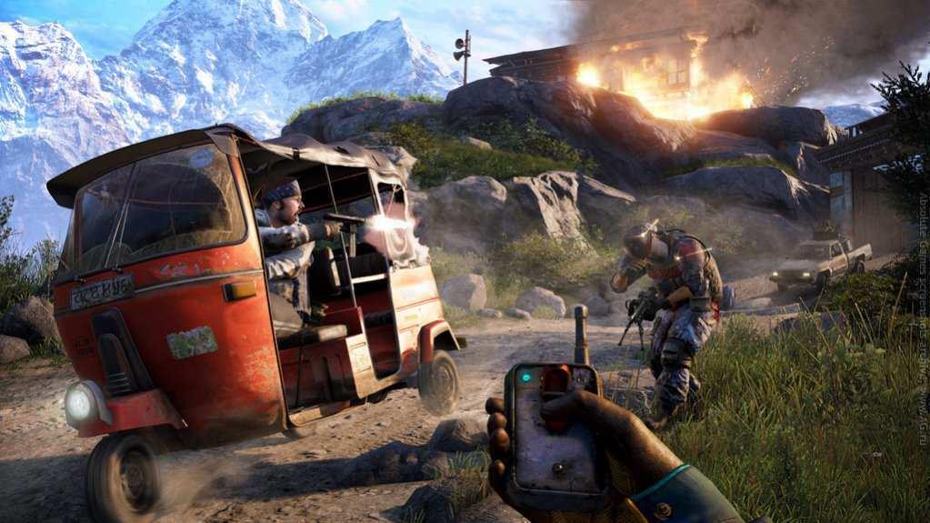Скриншот к игре Far Cry 4 (2014) скачать торрент RePack