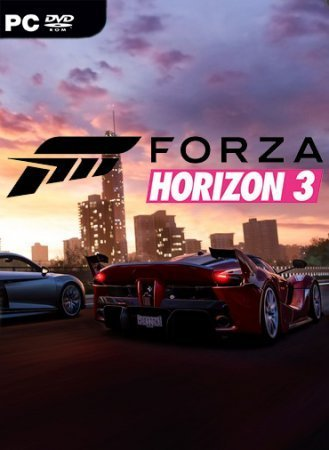 Обложка к игре Forza Horizon 3 (2016)