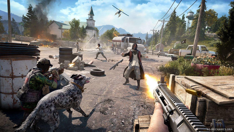 Скриншот к игре Far Cry 5: Gold Edition [v 1.4.0 + DLCs] (2018) PC | RePack