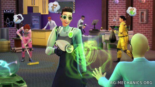 Скриншот к игре The Sims 4: Deluxe Edition [v 1.71.86.1020 (x64) / 1.71.86.1020 (x32) + DLC] (2014) RePack от R.G. Механики