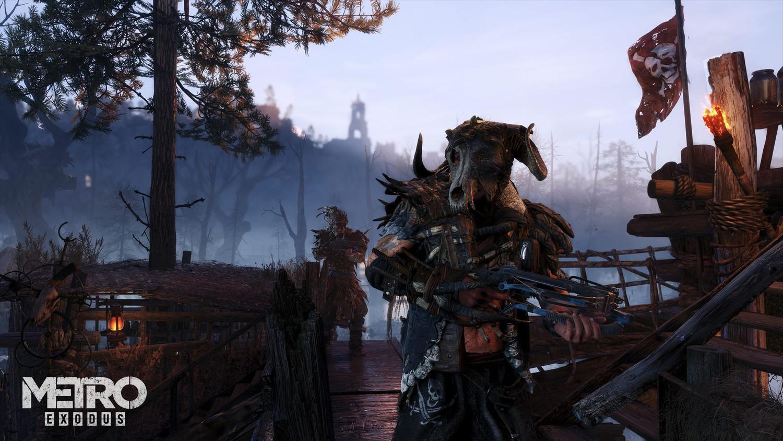 Скриншот к игре Metro: Exodus - Gold Edition [1.0.7.16 (38433)] (2019) скачать торрент RePack