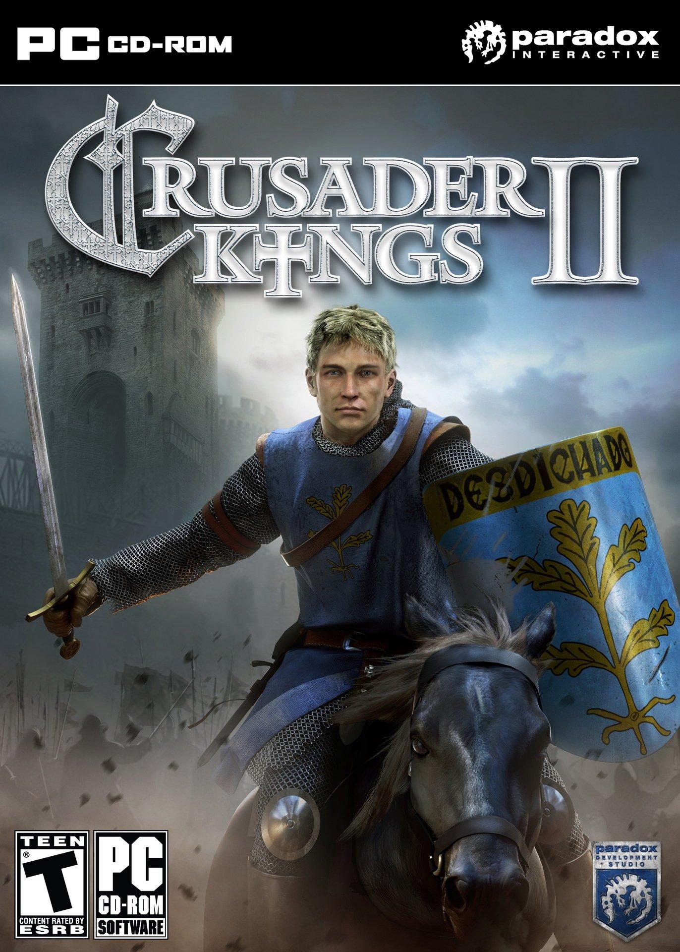 Крестоносцы 2 / Crusader Kings II v.3.3.2 [Portable] (2012) (2012)