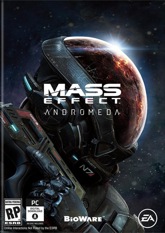 Обложка к игре Mass Effect: Andromeda - Super Deluxe Edition [v 1.10] (2017)