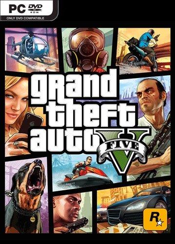 Обложка к игре Grand Theft Auto V (GTA 5) [v1.0.1180.1 (SP)/1.41] (2015) RePack от R.G. Механики