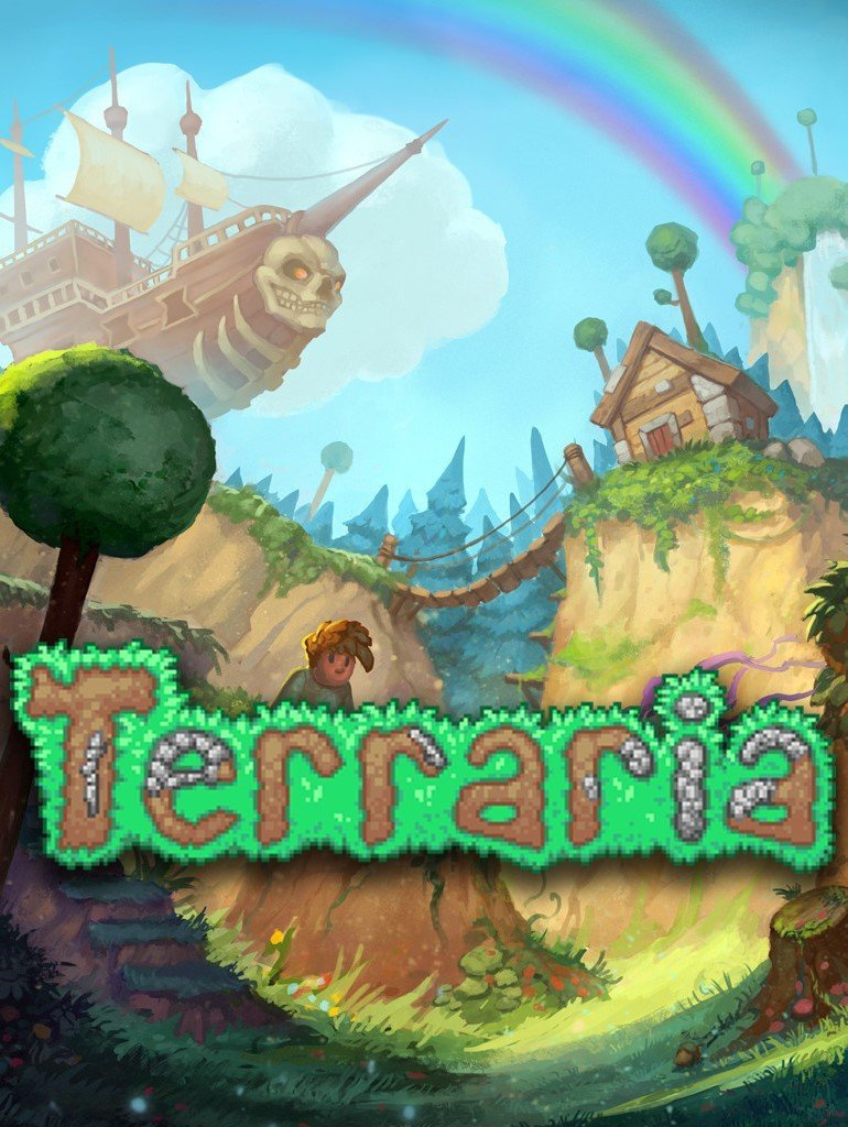 Terraria v.1.4.1.2 [GOG] (2011) Лицензия