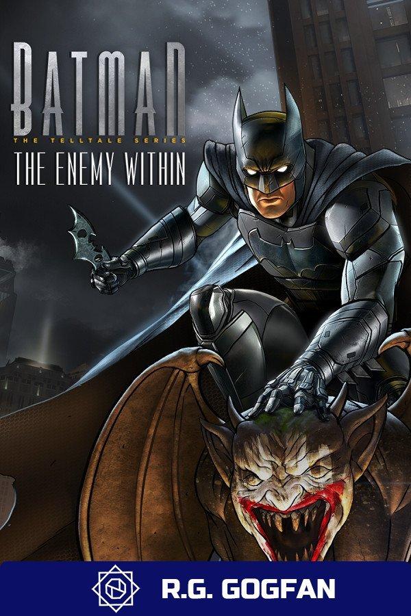 Batman The Enemy Within The Telltale Series+Batman Shadows Mode [GOG] (ENG/RUS/MULTI8) от R.G. GOGFAN (2017)