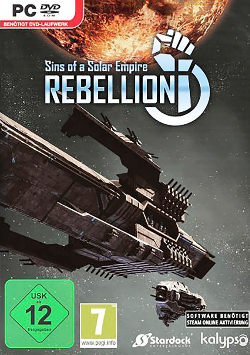Sins of a Solar Empire - Rebellion [v 1.95 + 4 DLC] (2012)