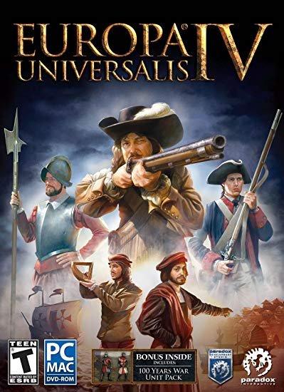 Europa Universalis IV [v 1.30.3 + DLC] (2013)