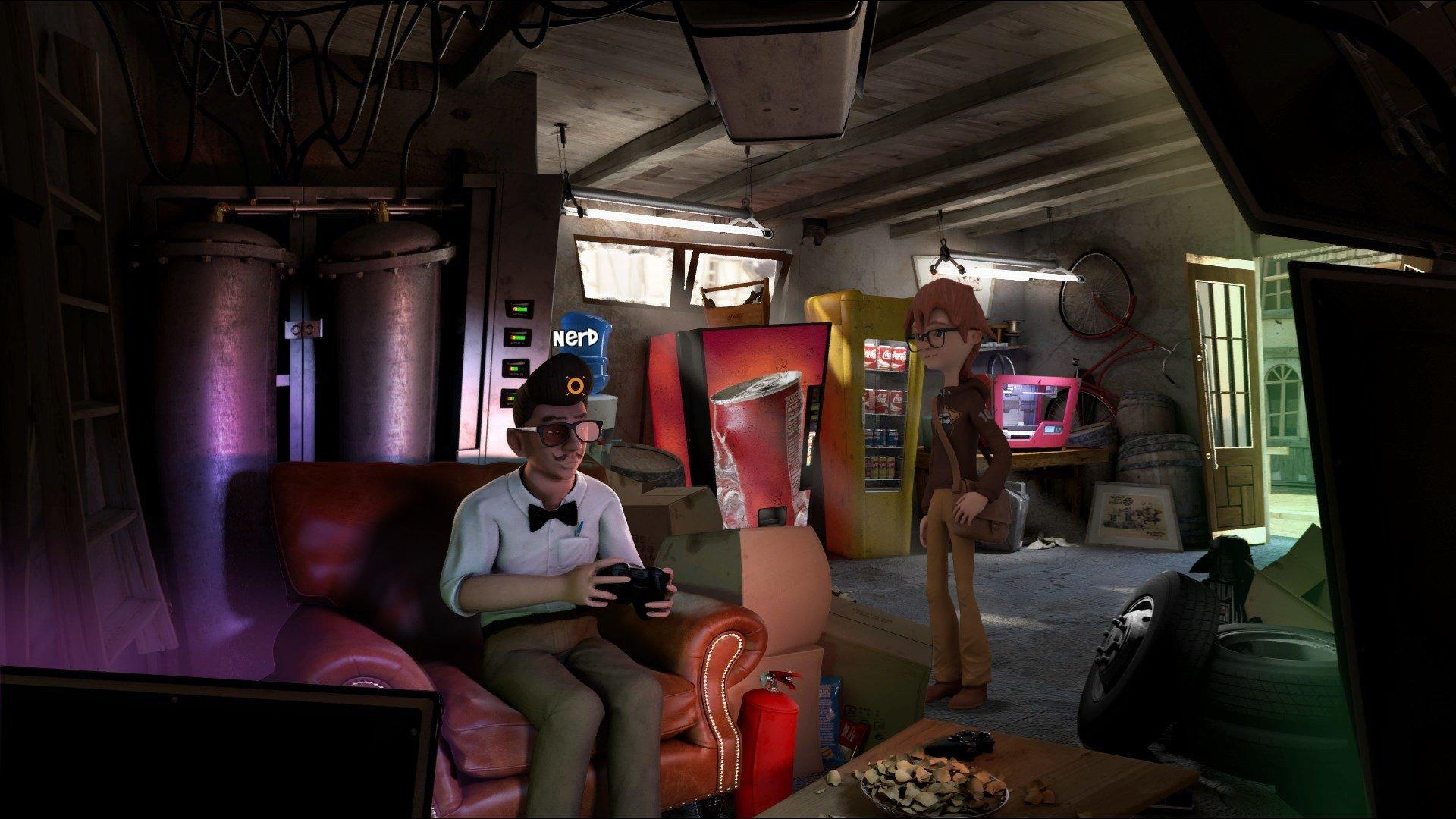 Скриншот к игре Willy Morgan and the Curse of Bone Town (2020) скачать торрент RePack