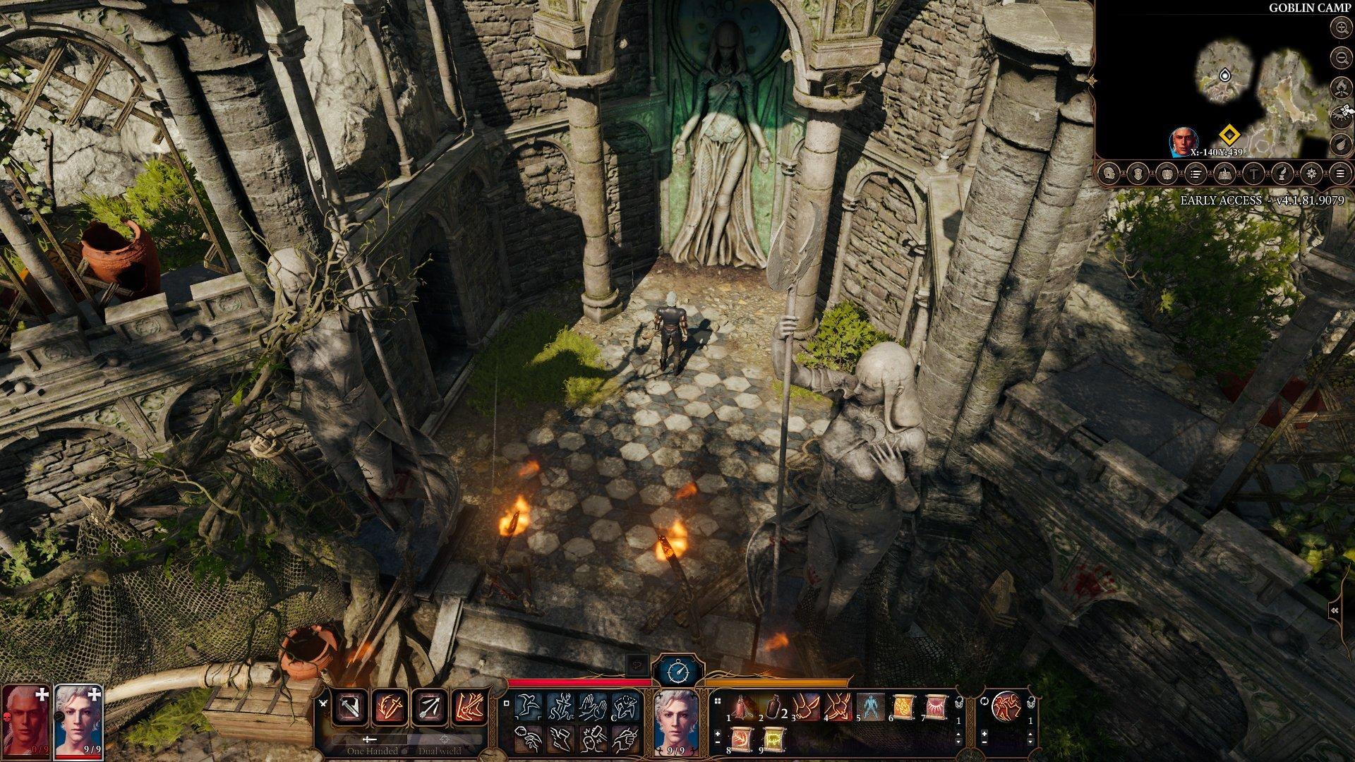 Скриншот к игре Baldur's Gate 3 (v.4.1.106.9344) [GOG] (Early Access) скачать торрент Лицензия