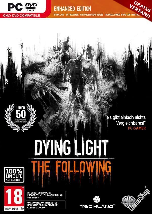 Dying Light: The Following- Enhanced Edition [v 1.31.0 (41655) + DLCs] (2016) RePack от R.G. Механики