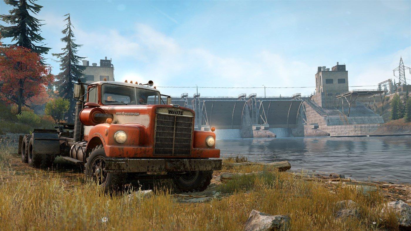 Скриншот к игре SnowRunner - Premium Edition [v.13.1+DLC] (2020) скачать торрент RePack от R.G. Механики