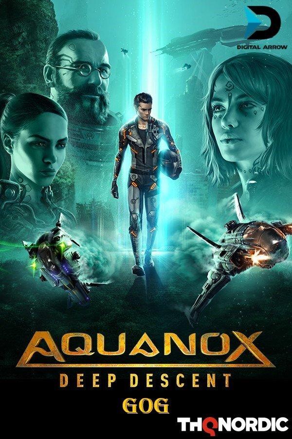AquaNox Deep Descent - Collector's Edition v.1.5 [GOG] (2020) Лицензия (2020)