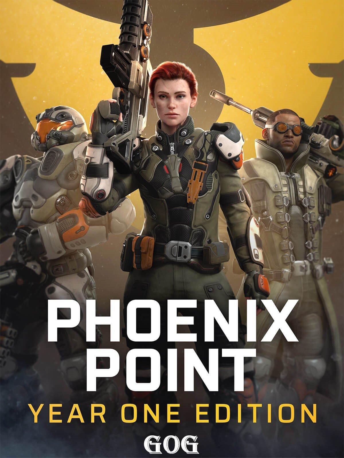 Phoenix Point: Year One Edition v.1.10 [GOG] (2019) Лицензия