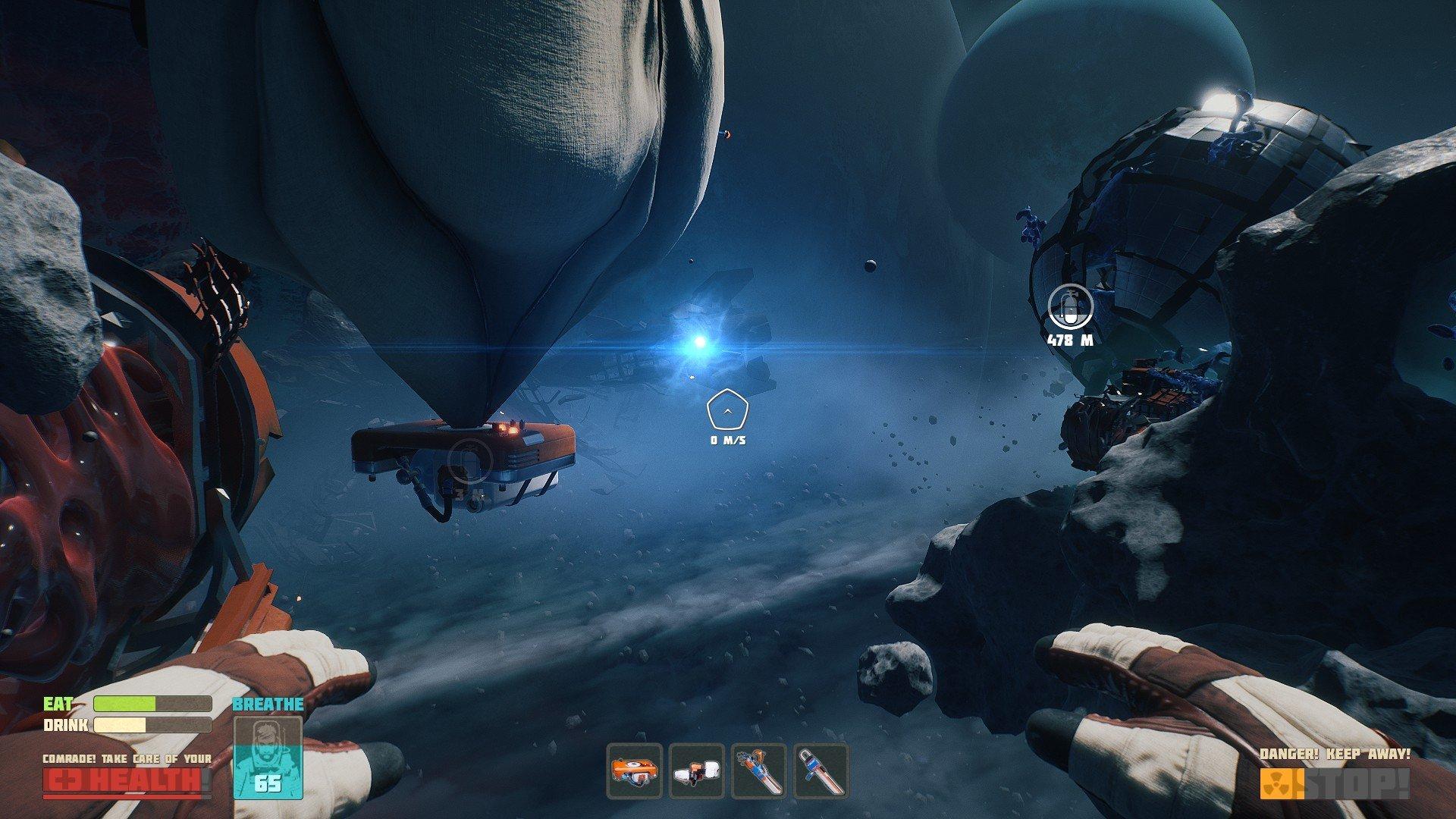 Скриншот к игре Breathedge [GOG] (2021) скачать торрент Лицензия