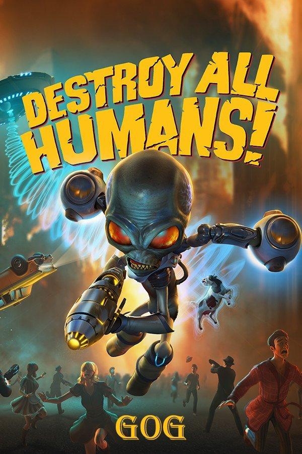 Destroy All Humans! v.1.4 [GOG] (2005-2020) Лицензия