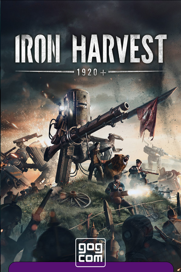Iron Harvest - Deluxe Edition v.1.1.7.2262 [GOG] (2020) Лицензия